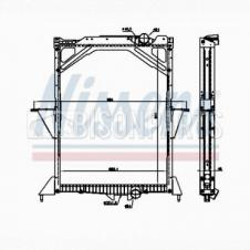 RADIATOR ASSEMBLY WITH FRAME