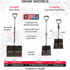 Spear & Jackson Snow Shovels