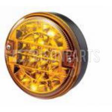 Rubbolite LED Rear Combination Lamp / Rear Indicator - Ø122mm x 48mm