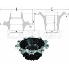 DAF CF / XF Hub c/w Bearings Front Axle (for Disc Brakes)