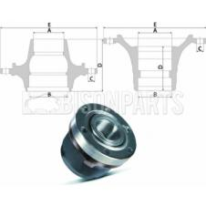 IVECO Daily Hub c/w Bearings Front Axle (for Disc Brakes)