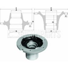 MAN LE2000 / L2000 Hub c/w Bearings Front Axle (for Disc Brakes)