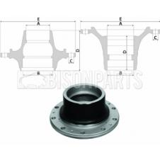 MERCEDES ACTROS Hub c/w Bearings Rear And Lift Axle (for Drum Brakes)