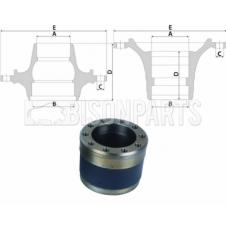 MERCEDES ATEGO Hub c/w Bearings Front Axle (for Disc Brakes)