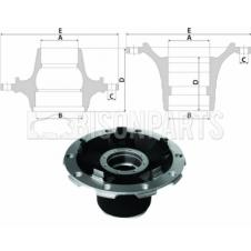MERCEDES AXOR Hub c/w Bearings Front Axle (for Disc Brakes)