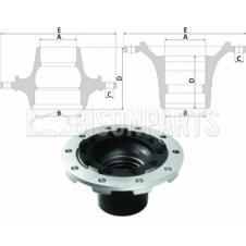 SCANIA 4, 5, 6 Series P & R Cab Hub c/w Bearings Front Axle (For Disc Brake)