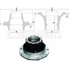 VOLVO Hub c/w Bearings Rear Axle (For Drum Brake)