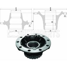 VOLVO Hub c/w Bearings Front Axle (For Disc Brake)