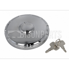 80MM STAINLESS STEEL LOCKING VENTED BAYONET DIESEL FUEL CAP