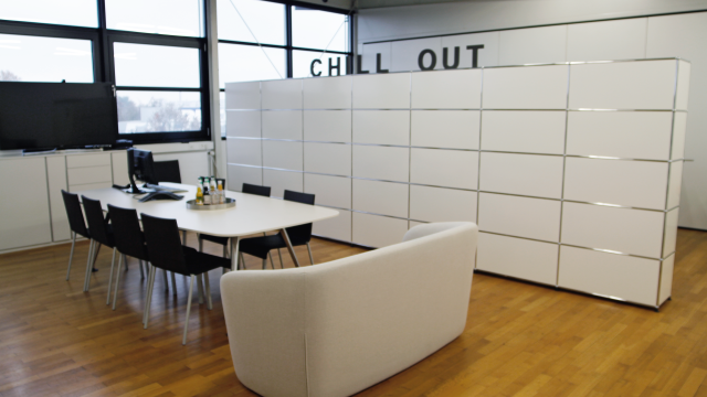 Unsere Chill-Out-Area