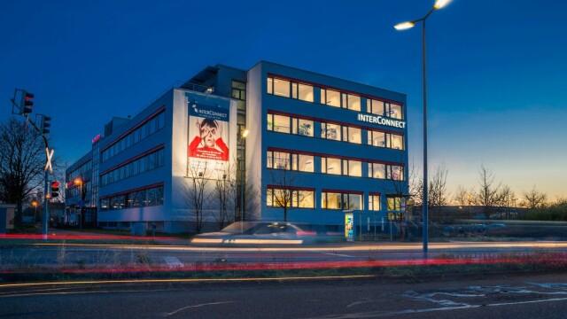 Der InterConnect-Firmensitz am Haus des Sports