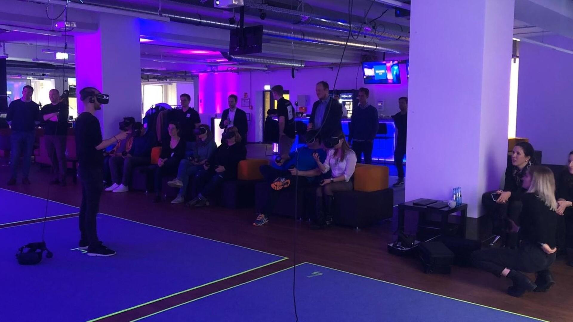 Firmenevent VR Loft Frankfurt