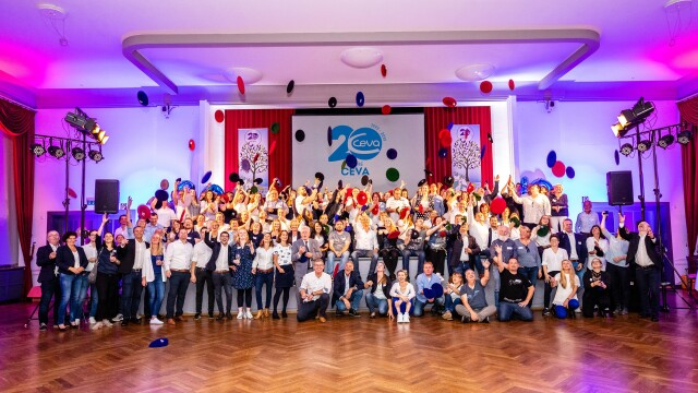 Firmenfest 20 Jahre Ceva