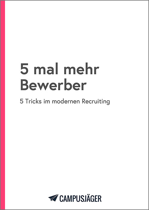 E-Book 5 mal mehr Bewerber – Cover