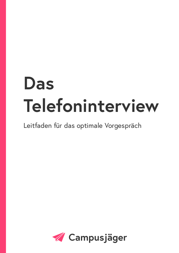 Leitfaden Telefoninterview Cover