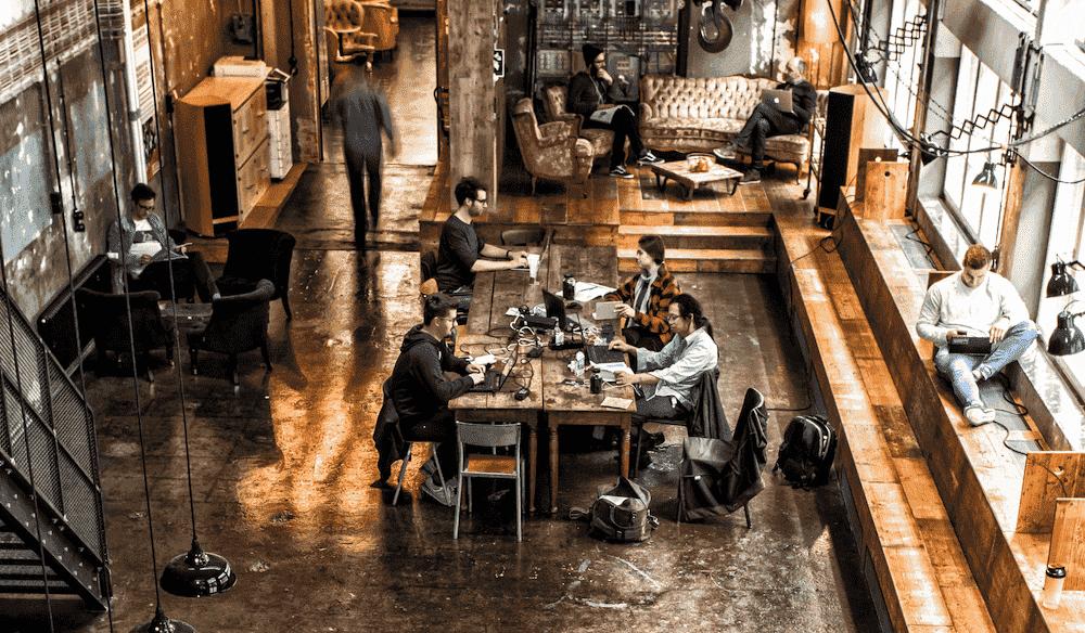 Coworking im wizemann-space in Stuttgart