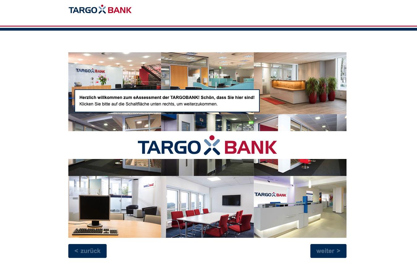 e-Assessment der Targobank