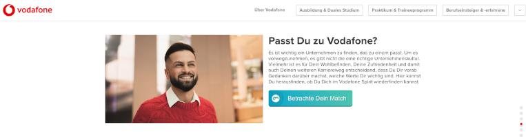 Vodafone JobMatchingScore