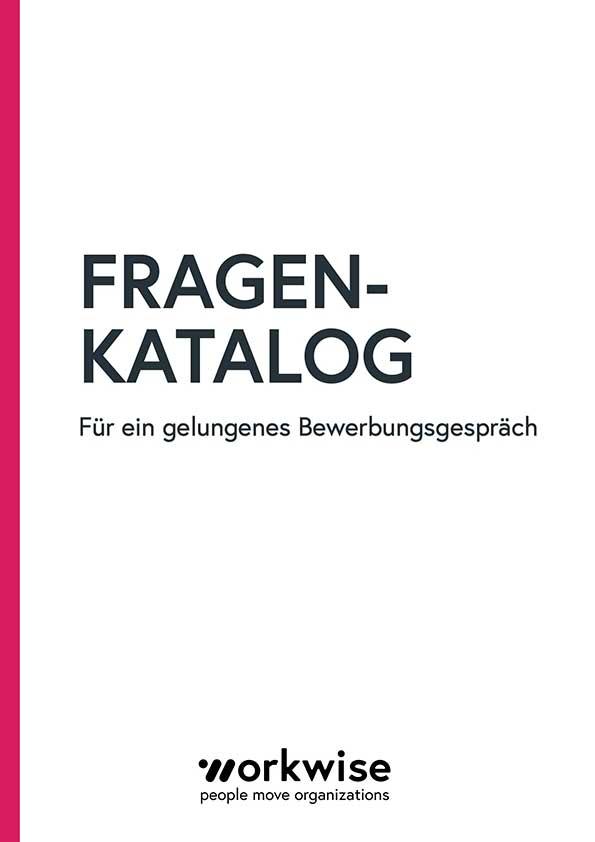 Fragebogen Bewerbungsgespräch Cover