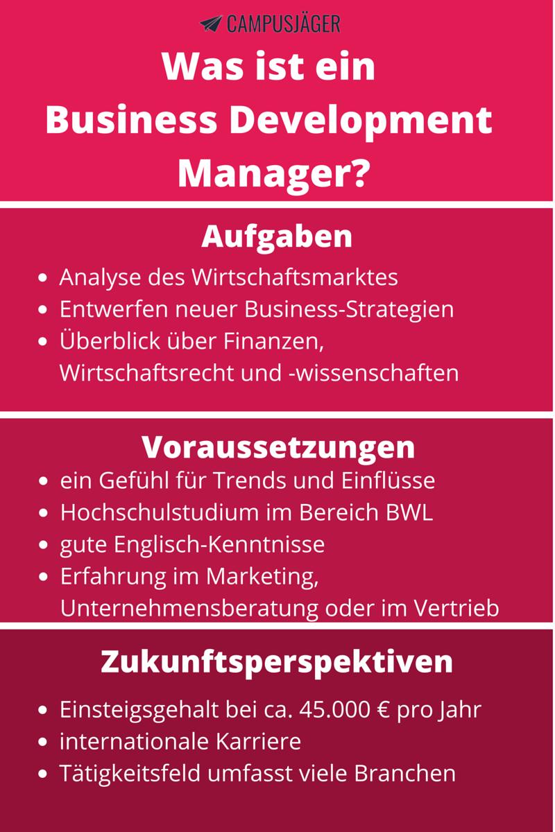 Was Macht Ein Business Development Manager
