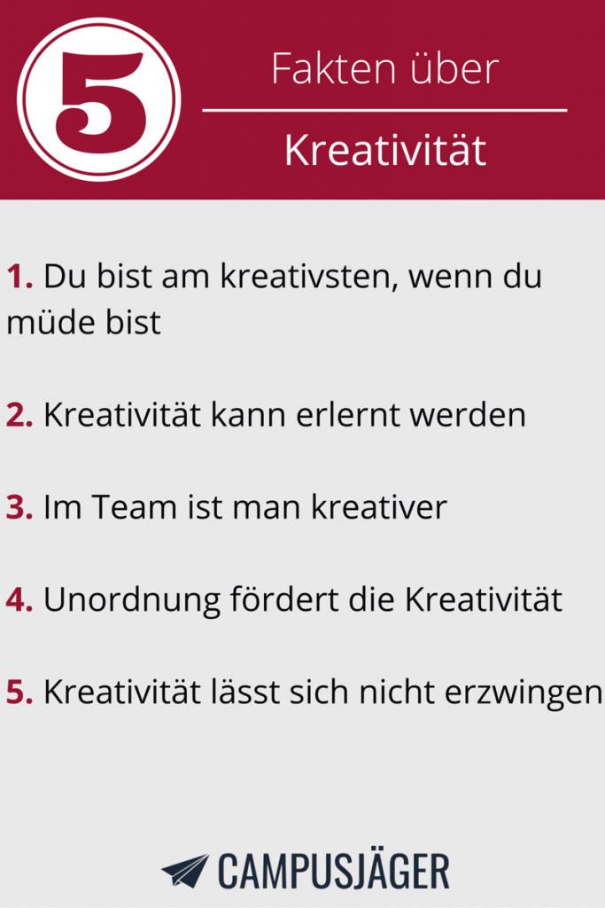 5 Fakten Kreativität