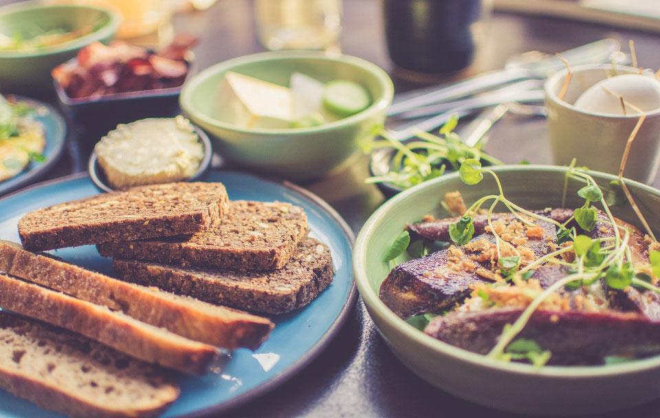 gesundes Frühstück - Brainfood