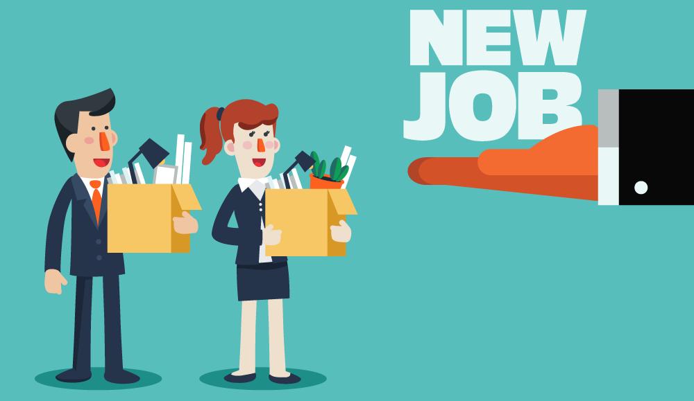 Berufseinsteigern wird Job angeboten