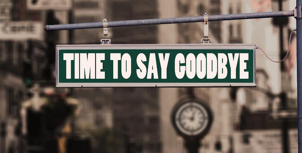 Kündigungsschreiben. Wegweiser: Time to say goodbye
