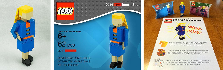 kreative Lego-Bewerbung
