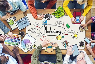 Bewerbung Marketing