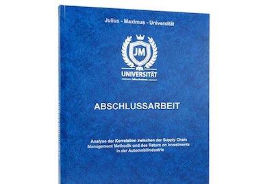 Dissertation drucken hardcover