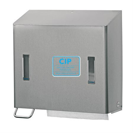 SANTRAL RVS HANDDOEK- en ZEEPDISPENSER NR.CPU2LE