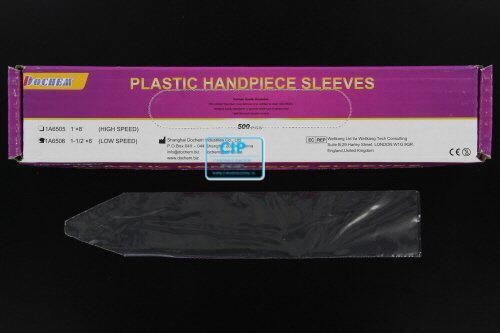 FHS PLASTIC LOW SPEED HANDPIECE SLEEVES 20,3x3,8cm (500st)