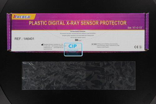 FHS PLASTIC SENSOR SLEEVES 25,4x6,4cm (500st)