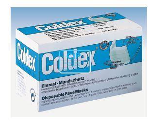 COLDEX MONDMASKERS MET ELASTIEK GROEN (50st)