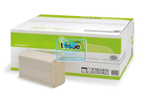MTS E-TISSUE HANDDOEKEN Z-FOLD 2-LAAGS 21,5x21cm (15x200st) 207321