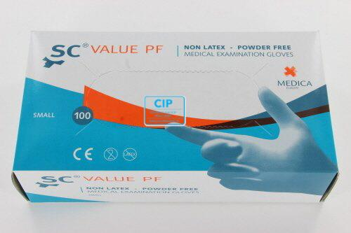 MEDICA SENSICARE VALUE HANDSCHOENEN POEDERVRIJ NON-LATEX SMALL (100st)