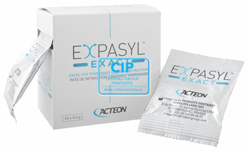 ACTEON EXPASYL EXACT RETRACTIE PASTA IN CAPSULES (20x0,3gr)