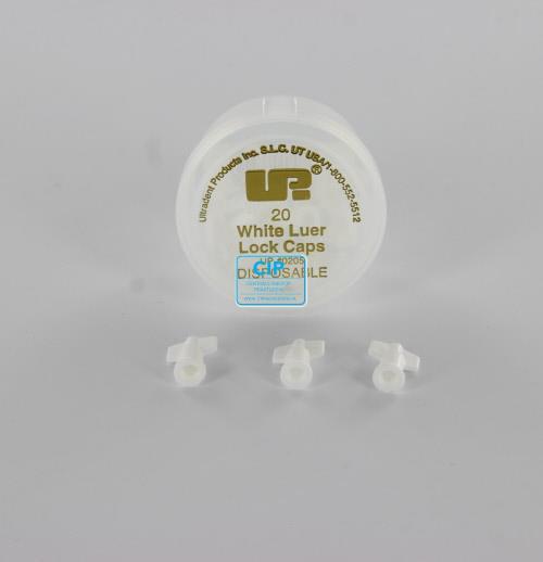 ULTRADENT WHITE LUER LOCK CAPS NR.UP-205 (20st)