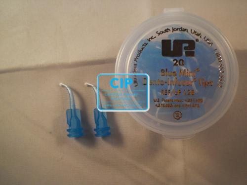 ULTRADENT BLUE MINI DENTO-INFUSOR TIPS NR.UP-128 (20st)