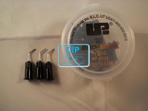 ULTRADENT BLACK MICRO TIPS 22GA NR.UP-194 (20st)