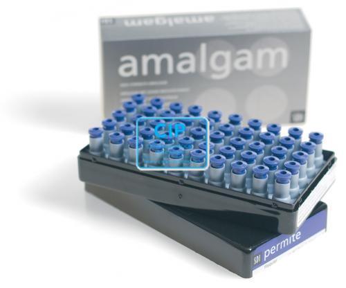 SDI PERMITE AMALGAAM CAPSULES 3-SPILL SLOW-SET (50st)