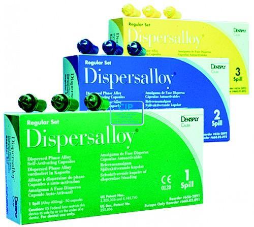 DETREY DISPERSALLOY 1-SPILL REGULAR SET SELF-ACTIVATING CAPSULES (50st)
