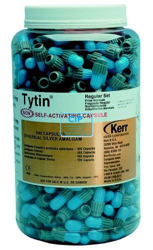 KERRHAWE TYTIN AMALGAAM CAPSULES 3-SPILL REGULAR-SET (500st)