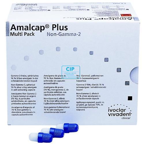 VIVADENT AMALCAP PLUS NON GAMMA-2 CAPSULES 1-SPILL FAST-SET (50st)