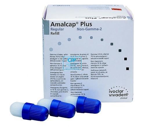 VIVADENT AMALCAP PLUS NON GAMMA-2 CAPSULES 3-SPILL REGULAR-SET (50st)