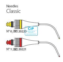 PD MAP SYSTEM CLASSIC TIP GEBOGEN NR.0 GEEL 0.90 NR.20220 (1st) INCL. PLUNGER
