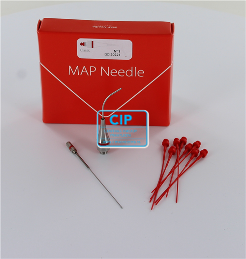 PD MAP SYSTEM CLASSIC TIP GEBOGEN NR.1 ROOD 1.10 + PLASTIC  PLUNGERS 20221