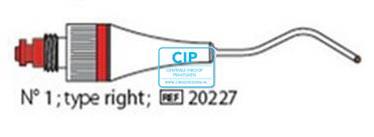 PD MESSING GUN NITI-PLUNGER NR.1 ROOD 080 (1st) 20227