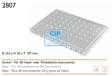 MEISINGER HP/RA50 PLEXIGLAS BORENSTANDAARD 2807